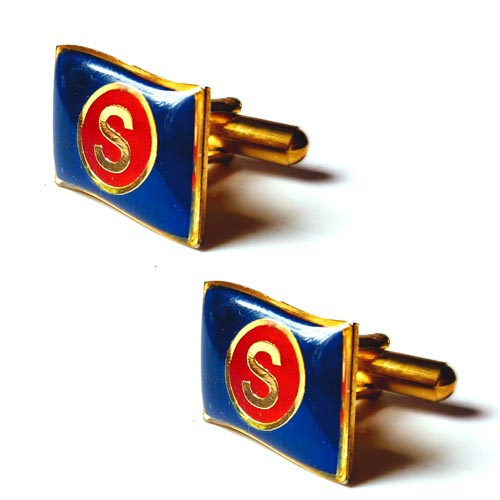 Gold Logo Cufflinks